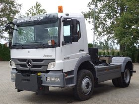 Mercedes-Benz ATEGO 1018 4x4 EURO5 Abrollkiper CTS