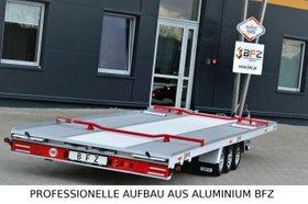 ANDERE  Innovativer Aluminiumanhänger BFZ-35/63 100km/h