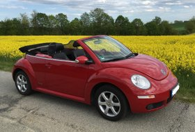 VW New Beetle Cabriolet - ROT