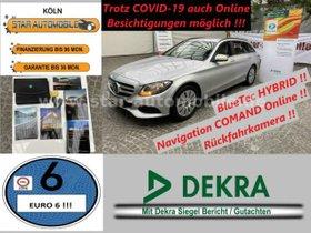 MERCEDES-BENZ C 300 BlueTEC / HT + 20 KW HYBRID-RFK-SITZH-EU6