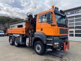 MAN TGA 28.350 6x4-4 Meiller Kipper + Kran +Winterd.