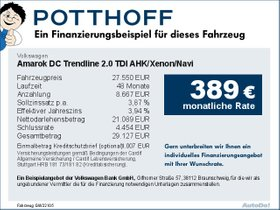 Volkswagen Amarok DC Trendline 2,0 TDI AHK/Xenon/Navi