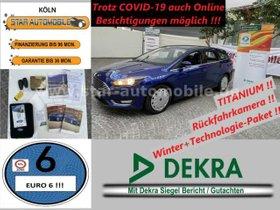 FORD Focus Turn.Titanium 1,5 TDCI-RFK-WINTERP-AHK-EU6