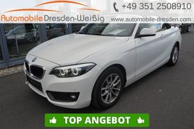 BMW 218 i Cabrio Advantage-Navi-HiFi-LED-PDC-