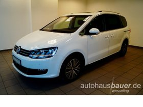 VW Sharan Comfortline 2.0 TDI BMT DSG, Navi, Pano, Klima, Park Assist, 7 Sitze