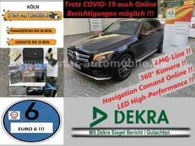 MERCEDES-BENZ GLC 250 d 4Matic-AMG-LINE-360°KAM-LED-LEDER-EU6!