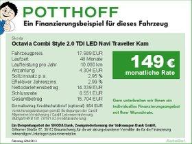 Skoda Octavia Combi Style 2,0 TDI LED Navi Traveller
