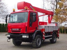 Iveco EuroCargo 110E22 Arbeitsbühne Palfinger BISON 19