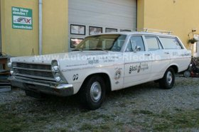 FORD Fairlane Ranch Wagon - orig. Drag Race Push Car!