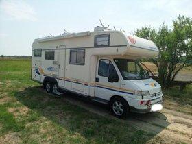 EURA Mobil A 770 HB für autarkes Campen hergerichtet
