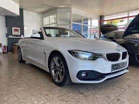 BMW 420 SPORT LINE-1.HD-SCHECKHEFT-