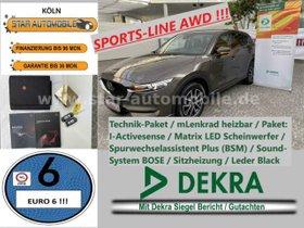 MAZDA CX-5 Sports-Line AWD 2,2-LED-LEDER-HEAD-UP-EU6!-