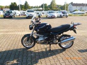 BMW R 1200 R -Windshield, Navi-Halterung, Kofferset -