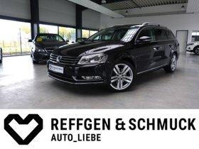 VW PASSAT VARIANT HIGHLINE+TEILLEDER+NAVI+XENON+ALU
