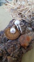 Perlenring mit fantastischen echten Perlen
