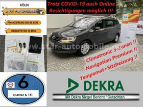 VW Sharan Comfortline BMT 2,0 TDI-NAVI-SITZH-EU6!-