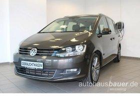 VW Sharan Highline 4Motion 2,0 l TDI DSG - Business Premium, Nappa, Standheizung