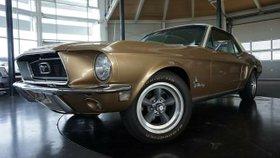 FORD Mustang 68er V8 Traum-zustand-Automatik-Servo-