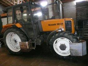 Renault 90 - 34 MX   Traktor  Schlepper  Trecker  Zugmaschine