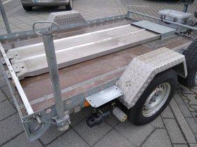 Plattformanhänger f. Kleinfahrzeug oder Motorräder Barthau MO 1350