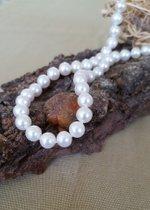 Wunderschöne Perlenkette - feinster Luster - Top Qualität