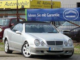 MERCEDES-BENZ CLK Cabrio 200 Kompressor-PDC-ALUFELGEN !!