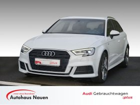 Audi A3 2.0 TDI Sportback S-Line Sport, Navi, LED, 19 Zoll,