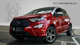 FORD EcoSport 1.0 EB ST-line Lucidred / DachSilber
