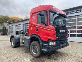Scania G410 4x4 Euro 6 SZM Kipphydraulik + Retarder!
