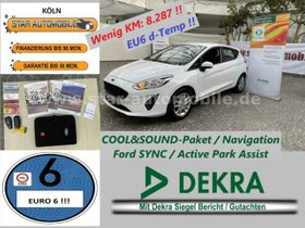 FORD Fiesta Trend1,1-RFK-NAVI-COOL&SOUND 4-EU6 D-TEMP