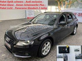 AUDI A4 Avant Ambiente-AHK-NAVI-GLASDACH-TEMPOMAT-