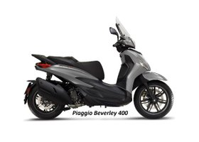 NEU Piaggio Beverly 400 S (E5) Motorrad / Roller