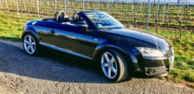 Audi TT Roadster Modell 2008 S-Line-Sportpaket plus mit DSG-Getriebe