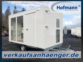 Hofmann Bürowagen Anhänger 1500kgGG 380x220x215cm Mobiles Büro