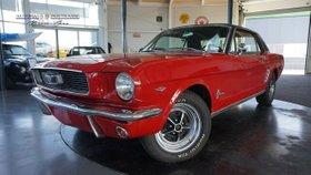 FORD Mustang  1966 -V8 /289-Servo-Automatik-H-Kenz.
