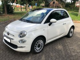 Fiat 500 1.2 Lounge 28.000 km 51 kW (69 PS) Benzin 2/3 Weiß Schaltgetriebe