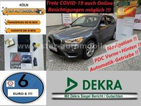 BMW  X1 xDrive 20 d Sport Line-LED-NAVI-SITZH-EU6
