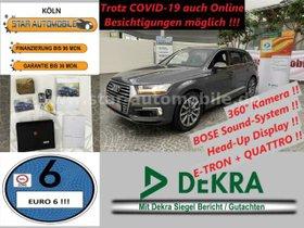 AUDI Q7 e-tron 3.0 TDIquattro-LED-RFK-P.DACH-BOSE-EU6