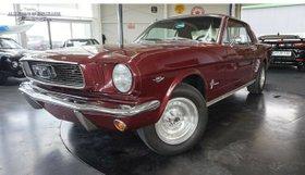FORD Mustang  1966 -V8 /289--Automatik-H-Kenz.