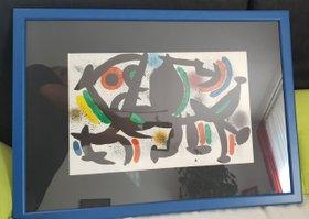 Joan Miro - Original Farblitographie