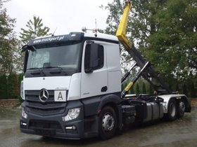 Mercedes-Benz ACTROS 2545 6x2 EURO6 Abrollkipper Palfinger 22T
