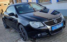 VW Eos 1.4 TSI AHK Windschott Sportsitze 18 Zoll Tempomat incl Winterräder Alu