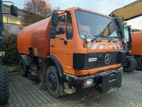Mercedes-Benz 1414 K Kehrmaschine -Vollfunktionsfähig