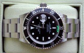 Rolex Submariner Stahl mit Datum Ref. 16610 mit Box und Papieren