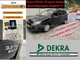 VW Sharan ComfortlINE BMT 2,0 TDI-7.SITZER-RFK-