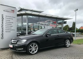 MERCEDES-BENZ C 180 Coupe (BlueEFFICIENCY) AMG Paket, 18