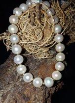 Perlenarmband mit Gold aus Privatbesitz