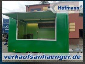 Hofmann Classic – Anhänger PKW Anhänger Imbiss 400x220x230cm 2700kgGG