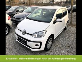 VW up! move 1.0 Klima SHZ BT-Freisprech maps & more