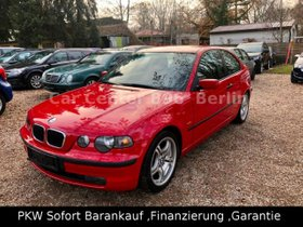 BMW 318 ti Klimat 17 Zoll M-Alus Euro 4 PDC Radio-CD